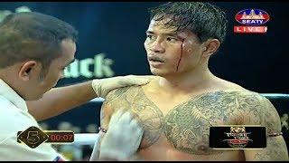 Phong Sopheap vs Sen Khonm(thai), Khmer Boxing Seat 14 Jan 2018, Kun Khmer vs Muay Thai