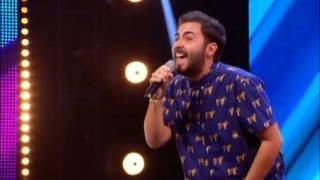 THE X FACTOR 2014 STAGE AUDITIONS - ANDREA FAUSTINI