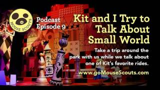 009 Family Fun: Kit and I Try to Talk About Small World