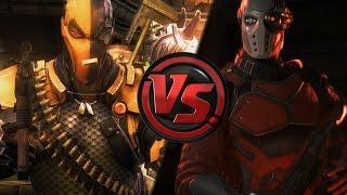 Deadshot vs Deathstroke - Comparison Injustice Gods Among Us & Injustice 2