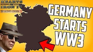 Hearts of Iron 4 HOI4 Germany Starts WW3 in the 1950s The Iron Curtain Mod