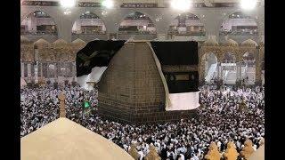 عاجل - عواصف وامطار شديدة تضرب مكة المكرمة و تخلع كسوة الكعبة المشرفة