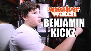 Benjamin Kickz Reveals His Sneaker Inventory is Worth Over $1 Million