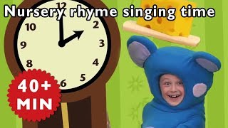 Mother Goose Club | Hickory Dickory Dock | Nursery Rhymes Mother Goose Club | Kids Songs