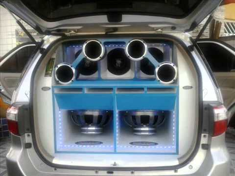 Som Automotivo com caixas Ts Audio Car 2013