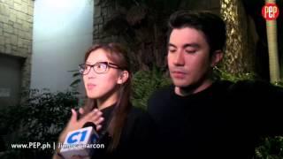 Alex Gonzaga and Luis Manzano remember fond memories with Wenn Deramas