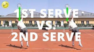1st Serve vs. 2nd Serve