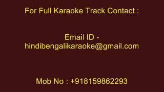 Megh Kalo Adhar Kalo - Karaoke - Srikanto Acharya - Neel Dhrubatara