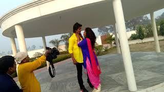 Niraj Kumar nirala live suting... देखें कैसे होती है भोजपुरी गाने की शूटिंग