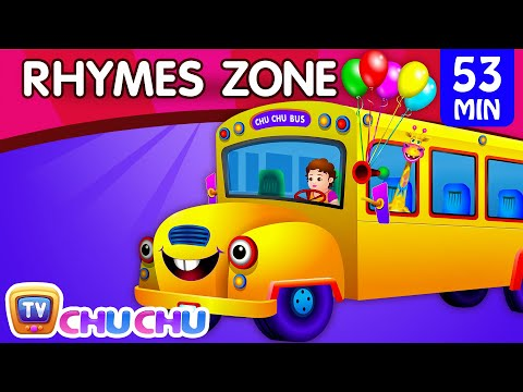 Wheels On The Bus Popular Nursery Rhymes Collection for Children ChuChu TV Rhymes Zone