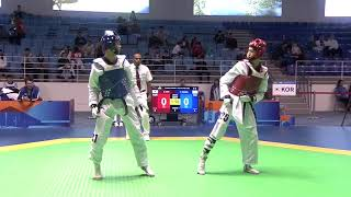 Men  68kg Round of 16|YU JEN HUANG (TPE) VS SUNHYUNG CHA (KOR)