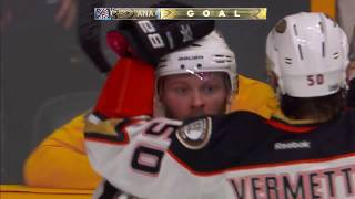 Ducks refuse to go away after Predators extend lead