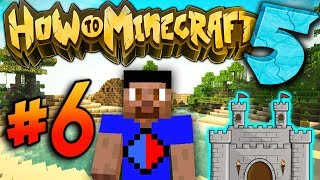 VIKK CASTLE! - How To Minecraft S5 #6