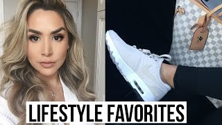 CURRENT LIFESTYLE FAVORITES! FITNESS, STYLE, FOOD, BEAUTY!