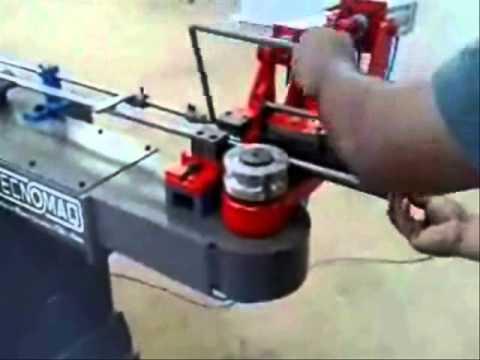 Tecnomaq Curvadoras Maquina Curvadora de tubos 2D pneumatica