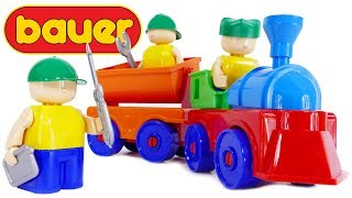 TRAINS FOR CHILDREN Bauer Mechanic Blocks 100 Educational Playset Toys for Kids Review