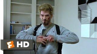 The Bourne Identity (7/10) Movie CLIP - Pen Versus Knife (2002) HD