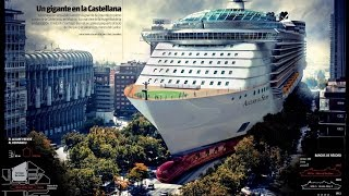 Wonders of World:Top 5 Largest Cruise Ships by class in 2016