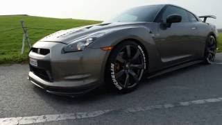 2009 Nissan GTR R35  Full bolt-ons  - Review & Test Drive تجربة قيادة نيسان جي تي ار