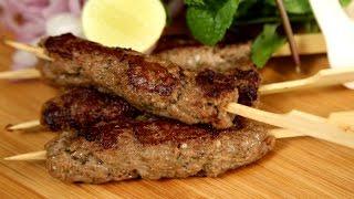 Mutton Seekh Kebab | Kebabs on Skewers – Easy Recipe | The Bombay Chef – Varun Inamdar