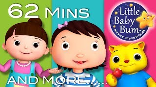 Johny Johny Yes Papa | Part 2 | Plus More Nursery Rhymes | 62 Mins Compilation by LittleBabyBum!