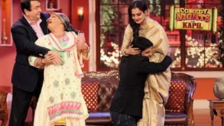 Rekha on Comedy Nights with Kapil 11th October 2014 Full Episode | Kapil Sharma