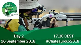 Mixed 10m Air Rifle standing SH2 Final   Day 2   Chateauroux 2018