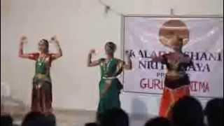 Aditi Bharatnatyam Dance