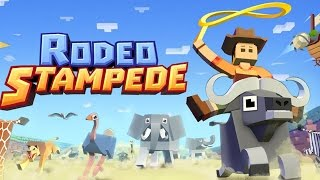 Rodeo Stampede - Sky Zoo Safari (By Featherweight Games) - iOS / Android - Gameplay Video