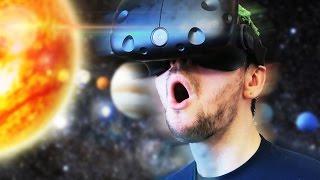 TRAVEL THROUGH SPACE! | The Lab #2 (HTC Vive Virtual Reality)