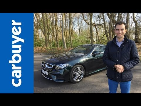 New Mercedes E-Class Coupe 2017 review – James Batchelor – Carbuyer