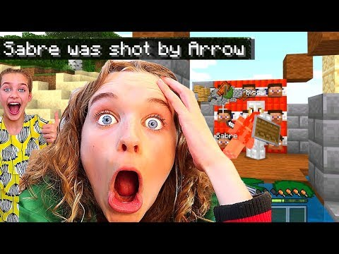 LITTLE SISTER SOCKIE GETS REVENGE in Underground Base Minecraft Ep2 Gaming w The Norris Nuts