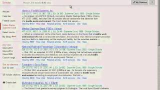 Legal Research Tutorial: Finding Case Law Using Google Scholar