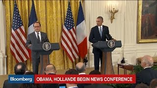 Obama: The U.S., France Stand United in Total Solidarity