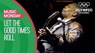 BB King - Let the Good Times Roll @Atlanta 1996 Olympic Games | Music Monday