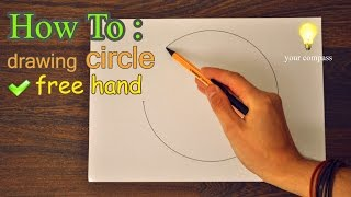 How to Draw FREEHAND a perfect CIRCLE / Tutorial