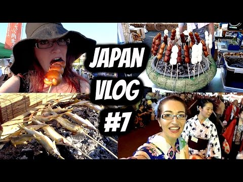 JAPANESE FIREWORKS &  FESTIVALS! 山形花笠まつり + 長井みずまつり// Japan Vlog Week #7!
