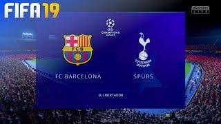 FIFA 19 - FC Barcelona vs. Tottenham Hotspur @ El Libertador
