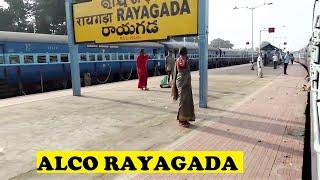 WDM2 Chennai Asansol Arrives Rayagada