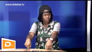 LeDebat TV   Grand Mag Des Médias recoit Nash, à propos du Journal Gbayé