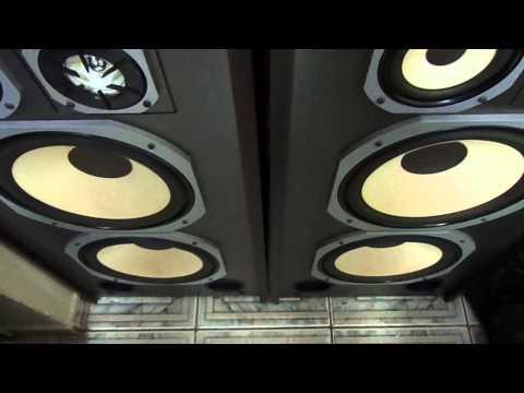 System Gradiente com Receiver Modelo 1450 e caixas Modelo M 220