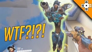 Overwatch Funny & Epic Moments 56 - PHARAH WTF IS WRONG WITH YOU!? - Highlights Montage