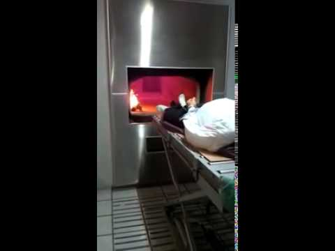 Cremacion Real de un muerto