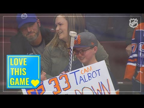 Xxx Mp4 Cam Talbot Gifts His Goal Stick To A Young Fan 3gp Sex