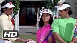 Tuffy's No Ball Scene - Superhit Bollywood Cricket Scene - Hum Aapke Hain Koun - #20YearsOfHAHK