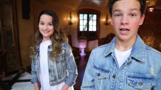 Hayden Summerall & Annie LeBlanc (Behind the scenes) of Little Do You Know