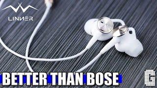 BEST NOISE CANCELLING HEADPHONES! : Linner Noise Cancelling Headphones