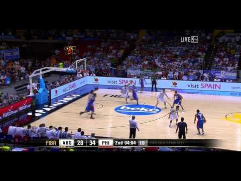 watch Argentina vs Philippines FIBA World Cup 2014 Group B