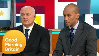 Iain Duncan Smith and Chuka Umunna React to Theresa May