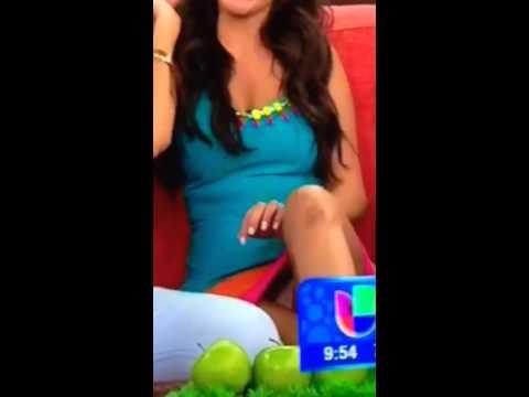 Ana Paola enseña calsones en despierta america
